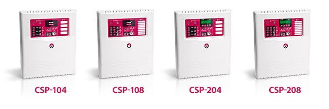 Centrale sygnalizacji pożarowej CSP