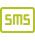 Vezérlés SMS-sel