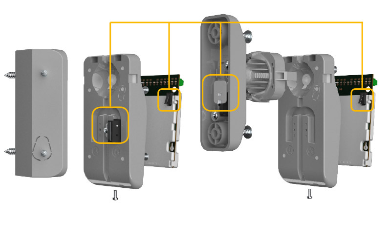 Opal Plus Outdoor Pir   Mw Dual Technology Motion Detector