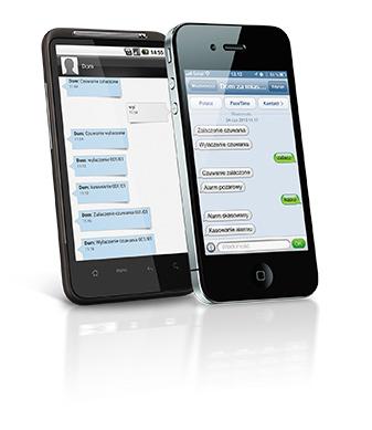 CA-5 Plus | Powiadamianie SMS