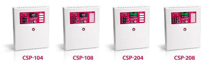 CSP-200 AND CSP-100 SERIES FIRE ALARM PANELS