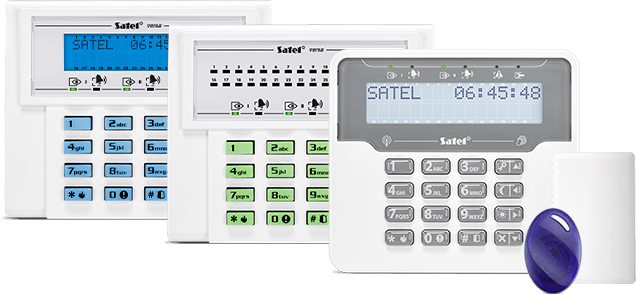 set of SATEL devices