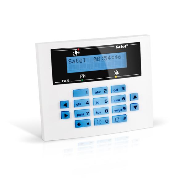CA-5 BLUE-S Satel Manipulator z wyświetlaczem LCD
