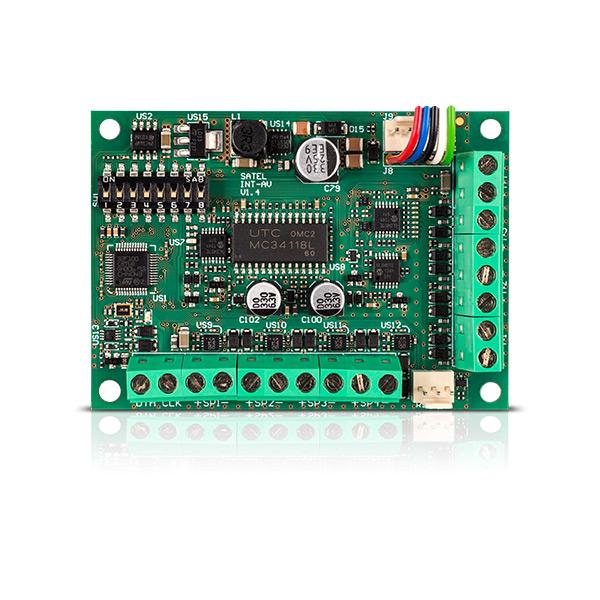 INT-AV Satel moduł akustycznej weryfikacji