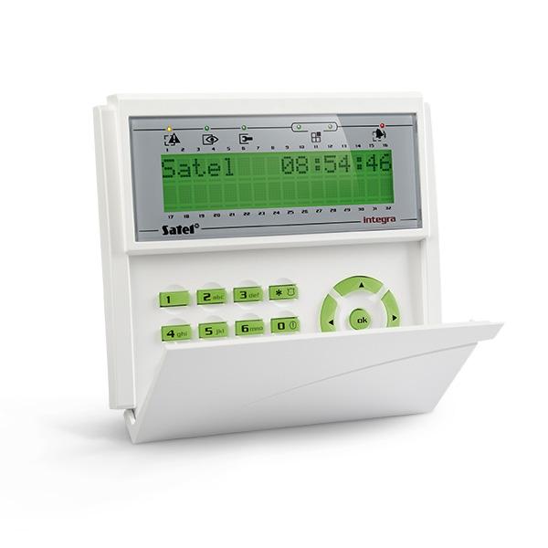 INTEGRA INT-KLCD-GR Satel Manipulator z wyświetlaczem LCD