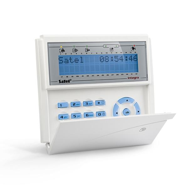 INTEGRA INT-KLCDR-BL Satel Manipulator z wyświetlaczem LCD