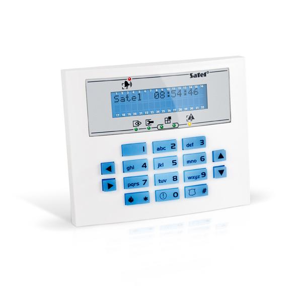INTEGRA INT-KLCDS-BL Satel Manipulator z wyświetlaczem LCD