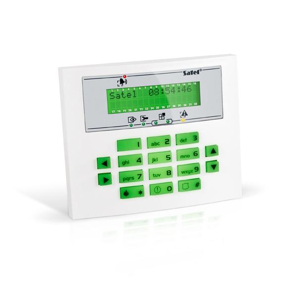 INTEGRA INT-KLCDS-GR Satel Manipulator z wyświetlaczem LCD