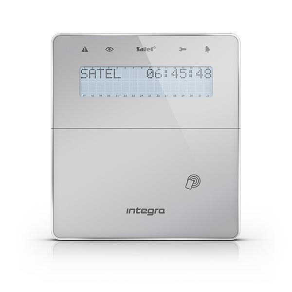INTEGRA INT-KLFR-SSW Satel Manipulator z wyświetlaczem LCD