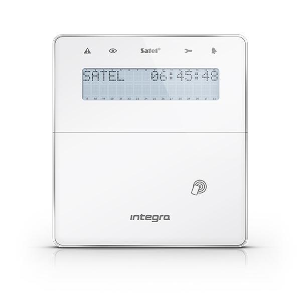 INTEGRA INT-KLFR-WSW Satel Manipulator z wyświetlaczem LCD