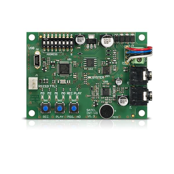 INT-VG Satel moduł głosowy