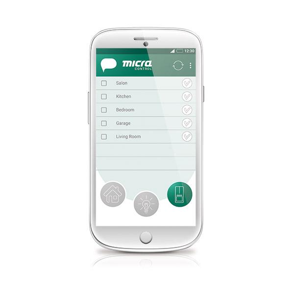 Micra Control Aplicación Para El Celular Para El Manejo Del