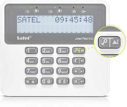 PRF-LCD-WRL - Постановка под охрану